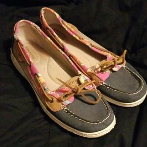 Sperry Top Siders Floral sz 11